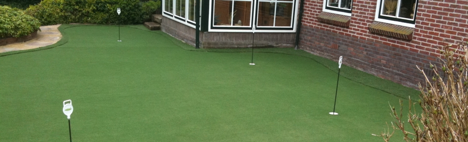 Golf putting green in uw tuin?
